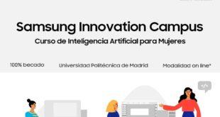Samsung impartirá curso gratuito de inteligencia artificial para mujeres