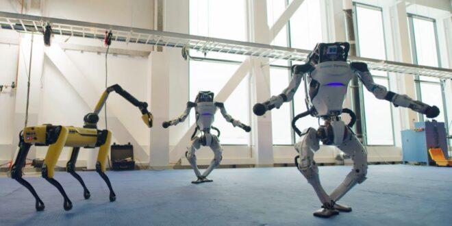 Los robots de Boston Dynamics también pueden bailar