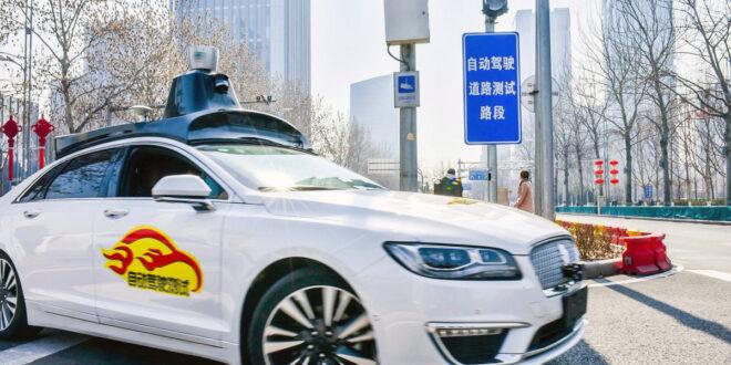Probarán autos sin conductor en calles públicas de Beijing