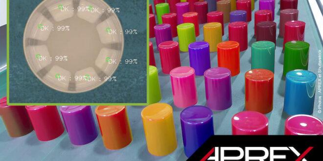 Inteligencia artificial en el control de calidad de tapas de plástico